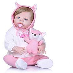 Diligent Npk Lovely Girl Princess Reborn Baby Dolls 22 Soft Silicone Body Lifelike Baby Dolls So Truly Reborns Kids Birthday Gifts Sales Of Quality Assurance Dolls & Stuffed Toys Dolls