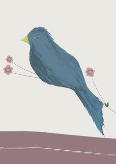 A sleepy bird for a sleepy Monday afternoon