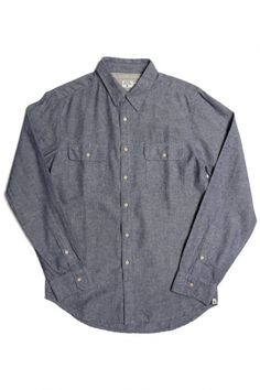 Powell Chambray Shirt | Little Paper Planes $128