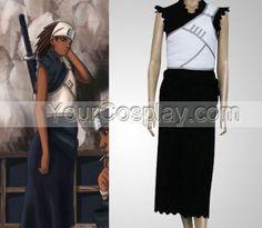 Naruto Karui Cosplay Costume, Naruto Cosplay Costumes, Cosplay Costumes