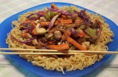 Ramen noodle stir fry....@Allison Bunch. 2nd easiest meal ever? :)