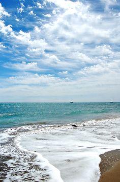 Playa en Castellón de la Plana