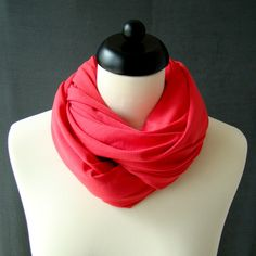 korall piros jersey körsál Accessories, Fashion, Moda, Fashion Styles, Fashion Illustrations, Jewelry Accessories