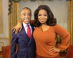 Vegetarian Rev. Al Sharpton dishes on dramatic 170 lb weight loss to Oprah: http://www.examiner.com/article/vegetarian-rev-al-sharpton-dishes-on-dramatic-170-lb-weight-loss-to-oprah