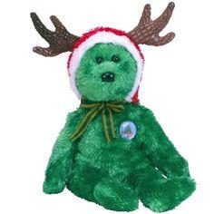 Ty Beanie Babies Bear for Christmas. Rare Beanie Babies fb6aa226917