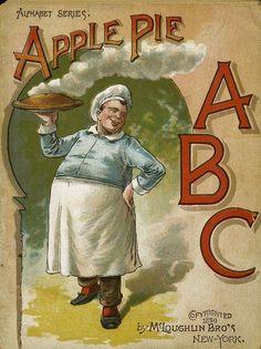 Apple Pie ABC, New York: McLoughlin Bros., 1890.