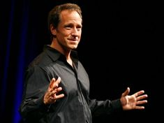"Mike Rowe, the host of ""Dirty Jobs""  