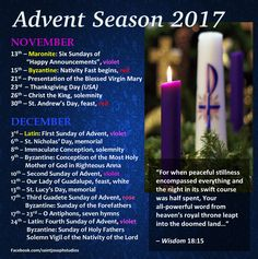 Advent Season 2017