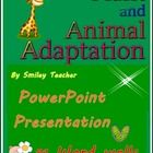 Adaptation of Animals and Plants PowerPoint Presentation  This power point is full of beautiful and lovely pictures that can help students learn li...