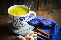 Goldene Milch vegan zubereitet