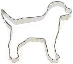 Lab Labrador or Dalmatian  Dog Cookie Cutter by KitchenCrafts