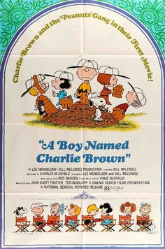 A Boy Named Charlie Brown (1969) #1960s #1969 #27x41