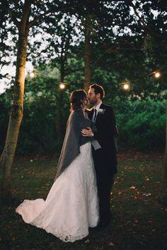 Sophie and Darren <3 #lights #wedding #brideandgroom #warm #blanket #kiss #septemberwedding