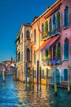 Colourful Venice.