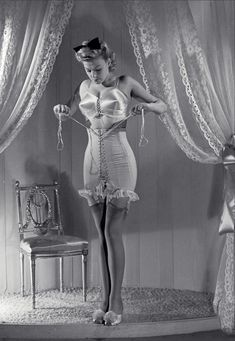WWII played a role on the evolution of corset fashion. Learn more here -