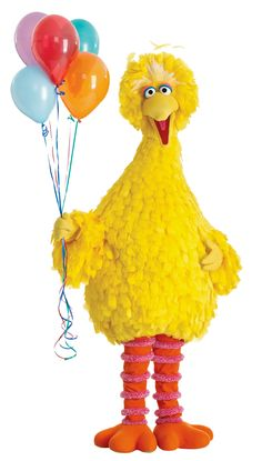 BIG wishes for Big Bird! Today is his birthday!