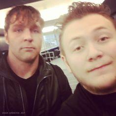 Dean Ambrose's Fans,Dean Ambrose, Jonathan Good, Jon Moxley