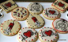 Nurse Cookies