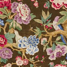 Bermuda Blossom Fabric
