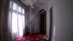 Exploring, Abandoned, Curtains, Film, Photography, House, Travel, Home Decor, Home