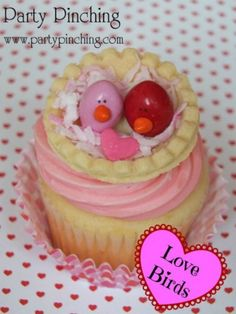 Love Birds Cupcakes - 100 Easy and Delicious Easter Treats and Desserts