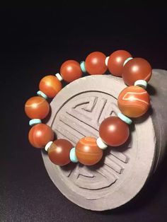 《朝夕酌色》【Sardonyx】Mental Discipline, Focus, Happiness, Optimism & Confidence ❤️【Real Stone Precious Stone ~ One Design One Thing】