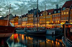 Nyhavn, Copenhagen, Denmark ...Was my top place to see in Denmark, so scenic, lots of fun restaurants and places to get great pics!! Loved it!!