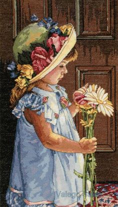 "Counted Cross Stitch kit 10""x16"" MY LITTLE SUNSHINE"