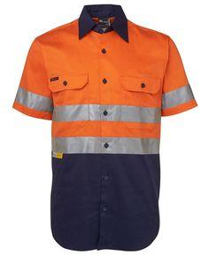 Hi Vis (D+N) S/S 190G Shirt 6HSS