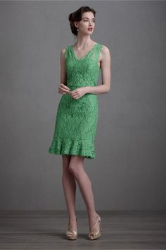 I really like this dress for its cut and materials and maybe it would go well with the bride's dress BUT I wish it were another color.