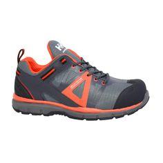 8a0ba34139f Helly Hansen Active Low Men s Size 7 Black Orange Nylon Leather Composite  Toe Waterproof Work Shoe