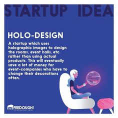 Holo-Design #startupidea . . . #startup #startups #BusinessGrowth #startuplife #entrepreneur #entrepreneurship #businessidea #business #sharktank #sharktankidea #inventionidea #b2b #b2c #marketing Event Company, Lots Of Money, Shark Tank, Startups, Holographic, Entrepreneurship, Inventions, Marketing, Business