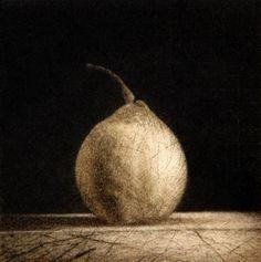 Chris Denton, Drypoint on 265 x 240 mm paper 2004.