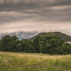 Craigmillar Castle park in Edinburgh, Scotland.