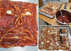 Make your homemade pizza frightening but enormously delicious Halloween snack