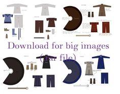 Viking Clothing Examples by *sudenjoiku on deviantART