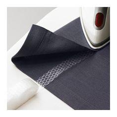 SY Oplægningsbånd IKEA Gør det nemt at lægge tekstiler op uden at sy. Til tunge tekstiler kan du bruge 2 oplægningsbånd ved siden af hinanden.