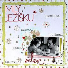 MK-life: Milý Ježíšku My Scrapbook, Project Life, Photo Book, Books, Projects, Movie Posters, Art, Livros, Craft Art