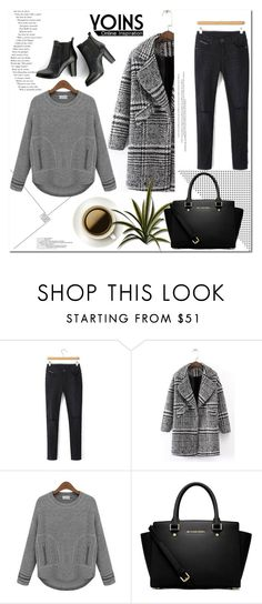 """YOINS.COM"" by ilona-828 ❤ liked on Polyvore featuring MICHAEL Michael Kors, SWEET MANGO, polyvoreeditorial and yoins"