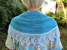 The Beachy Head Shawl is a simple garter stitch crescent shape wrap with a pretty lace edging. Designed with the beginner knitter in mind, it will also appeal to those looking to develop their skills. The shawl is knitted top-down with the lace eding worked sideways whilst picking up the live shawl stitches which gives it the perfect drape.
