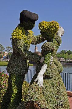 Cinderella Topiary | Flickr – Compartilhamento de fotos!