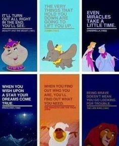 These Disney Quotes Are So Perfect They'll Make You Cry. These Disney Quotes Are So Perfect They'll Make You Cry. Dumbo Quotes, Disney Movie Quotes, Disney Memes, Quotes From Disney, Disney Songs, Funny Quotes, Disney Motivational Quotes, Disney Quotes About Love, Disney World Quotes