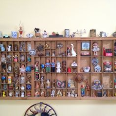 miniatures display shelf. Just bought a shelf - time to fill it :)