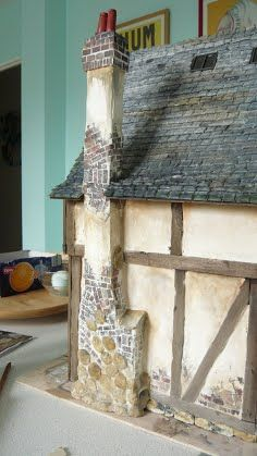 Chimney from start to finish (well, 99% done)   Building Miniature ...