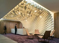 Reception at Clayton Utz Law Firm | Canberra | Design Institute of Australia