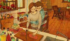 Hermosas ilustraciones retratan los pequeños detalles en los que se encuentra el…