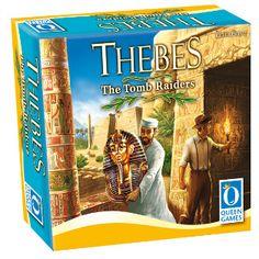 Thebes es un juego de arqueología competitiva. Los jugadores son arqueólogos que deben viajar por Europa, el norte de África, y Oriente Medio para adquirir conocimiento sobre cinco civilizaciones antiguas – los Griegos, los Cretenses, los Egipcios, los Palestinos, y los Mesopotámicos – para luego usar este conocimiento para excavar...