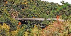 Miho Museum Bridge, Shigaraki, Japan Miho Museum, Smart City, Bridges, Asia, Japan, Outdoor Decor, Travel, Inspiration, Image