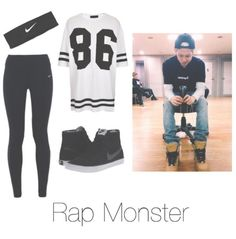 rap mon dance practice