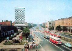 Wrzeszcz z początku lat 70 XX wieku.  Z kolekcji Mirosława Baski